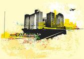 Big City — Stock Vector