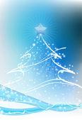 Christmas tree — Stok Vektör