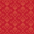 Victorian  wallpaper Pattern — Stockvectorbeeld