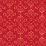 Victorian wallpaper Pattern — Stock Vector