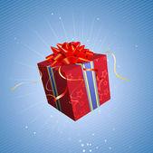 Present box — Stock Vector