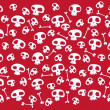Funny skulls and bones - Stock Vector