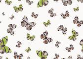 Funky butterflies — Stock Vector