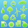 Stock Photo: eco icons
