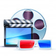 Cinema background — Stock Photo #6004845