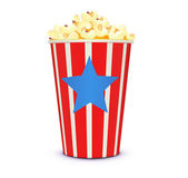 Classic cinema-style popcorn — Stock Photo
