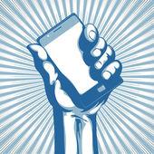 Moderno telefono cellulare — Foto Stock