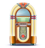 Classic juke box — Stock Photo
