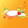 Funky fryity background -  