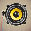 Royalty-Free Stock Vectorielle: Loud speaker