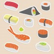 Sushi set — Stock Vector #6555977
