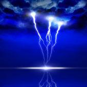 Image of lightning — Stock Photo