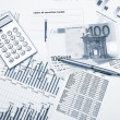 Financial charts and graphs — Stock Photo #5586551