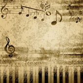 Music notes — Stockfoto