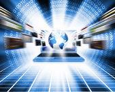 Global computer network — Stock Photo