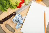 Place for cooking vegetables — Stock Photo