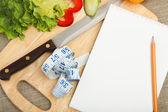 Plaats voor het koken van groenten — Stockfoto