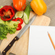Place for cooking vegetables - Stock Photo