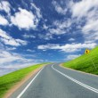 Road and horizon — Stockfoto