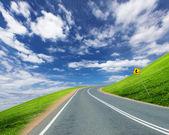 道路と地平線 — ストック写真