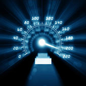 Picture of speedometer — Stock Photo