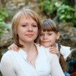 Young mother with her little daughter — Stock Photo #5856993