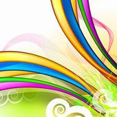 Färgglad abstrakt bakgrund — Stockfoto