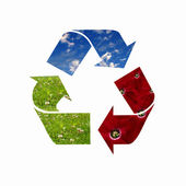 Eco symbol — Stock Photo