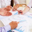Financial and business documents on the table — Stock Photo #5985441