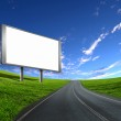 Billboard on the road — Stock Photo #6014204