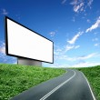 Billboard on the road — Stock Photo #6044137
