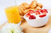 Early breakfast. — Stock Photo