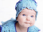 Portrait of an infant — Stock Photo