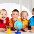 Group of pupils — Stock Photo #6183965