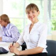 Business woman in office — Stock Photo #6211963