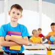 Portrait of a student is in class — Stock Photo