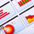 Graphs, charts, business table. — Stock Photo #6491831