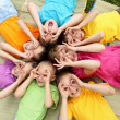 Group of children in the park — Stock Photo #6582464