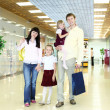 Young family doing shopping — Stock Photo