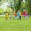 Group of children in the park — Stock Photo #6601594