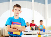 Portrait of a student is in class — Foto Stock