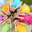 Group of children in the park — Stock Photo #6706499
