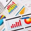 Graphs, charts, business table. — Stock Photo #6707173