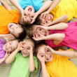 Group of children in the park — Stock Photo #6730607