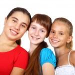 trois adolescentes — Photo