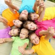 Group of children in the park — Stock Photo #6741430