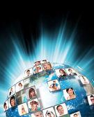 Media technology concept — Stock Photo