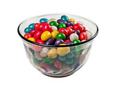Vase with colorful candy — Stock Photo