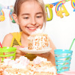 Stock Photo: Funny birthday party