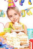 Funny birthday party — Stock Photo